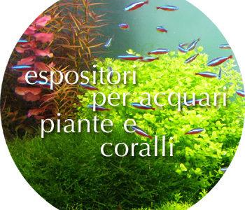 Espositori acquari